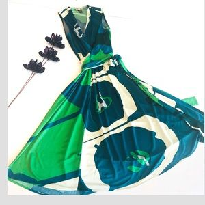 Issa London Silk Wrap Dress